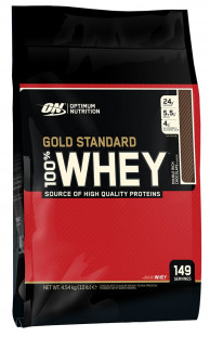 Протеин Optimum Nutrition 100 % Whey protein Gold standard 10 lb (4536 г)
